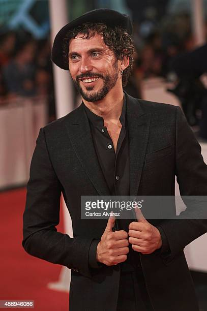 Spanish actor Paco Leon attends 'Regression' premiere during the 63rd San Sebastian International Film Festival at the Kursaal Palace on September 18...