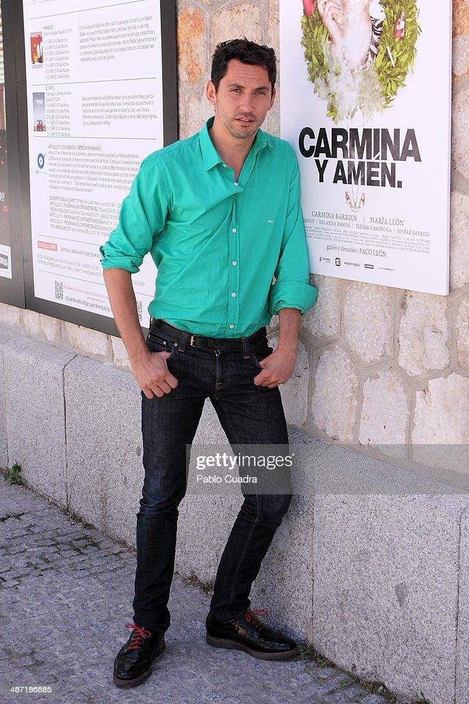 Celebrity Sighting in Madrid - April 28, 2014