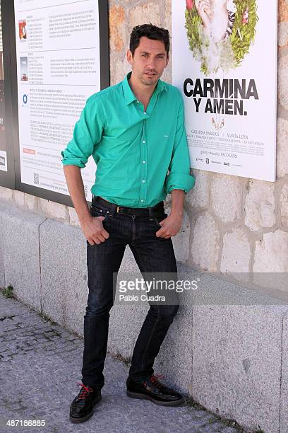 Spanish actor Paco Leon sighting on April 28 2014 in Madrid Spain