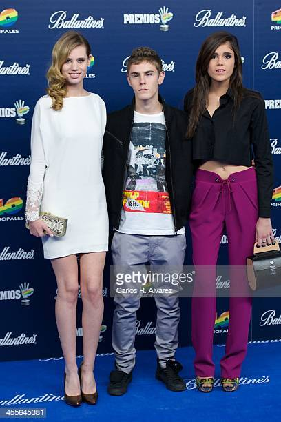 Spanish actor Patrick Criado attends the '40 Principales Awards' 2013 photocall at Palacio de los Deportes on December 12 2013 in Madrid Spain