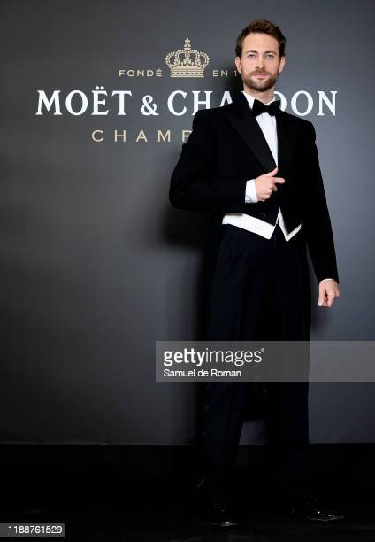 Spanish actor Peter Vives attends 150th 'Moet Imperial' Anniversary Party In Madrid on November 19, 2019 in Madrid, Spain.