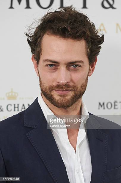 Spanish actor Peter Vives attends 'Moet Tiny Tennis' event at the French Embassy on May 5 2015 in Madrid Spain