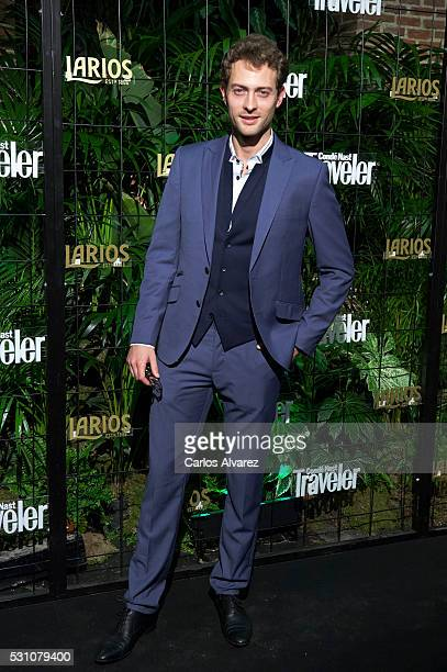 Spanish actor Peter Vives attends the 'Conde Nast Traveler' awards 2016 at the Conde Duque cultural center on May 12 2016 in Madrid Spain