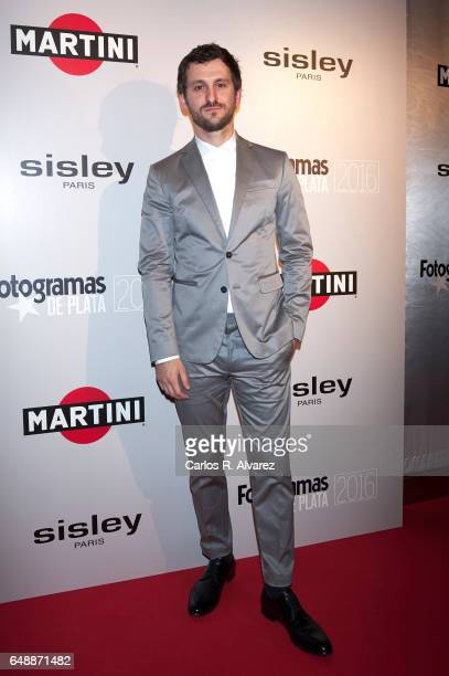 Spanish actor Raul Arevalo attends the Fotogramas Magazine cinema awards 2017 at the Joy Eslava Club on March 6 2017 in Madrid Spain