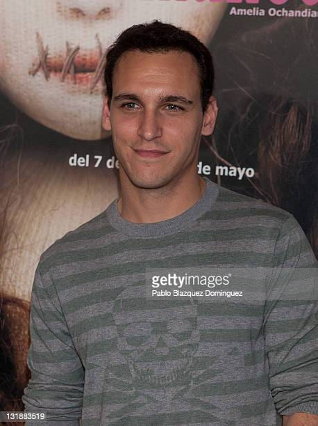 Spanish actor Ricard Sales attends 'Casa de Munecas' photocall at Fernan Gomez Theatre on April 12, 2011 in Madrid, Spain.
