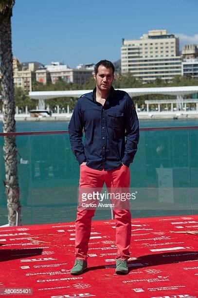 Spanish actor Richard Shaul attends the Por un Punado de Besos photocall during the 17th Malaga Film Festival 2014 Day 6 on March 26 2014 in Malaga...