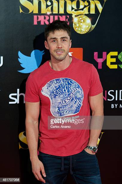 Spanish actor Ruben Sanz attends the Shangay Pride concert at the Vicente Calderon stadium on July 4 2014 in Madrid Spain