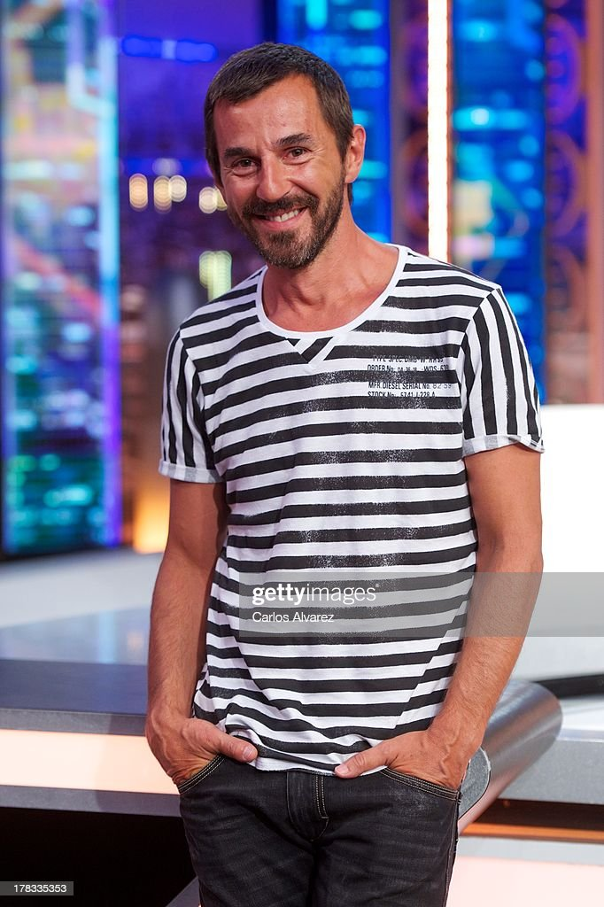 Spanish actor Santi Millan attends the 'El Hormiguero 3.0' new season presentation at the Vertice Studio on August 29, 2013 in Madrid, Spain.