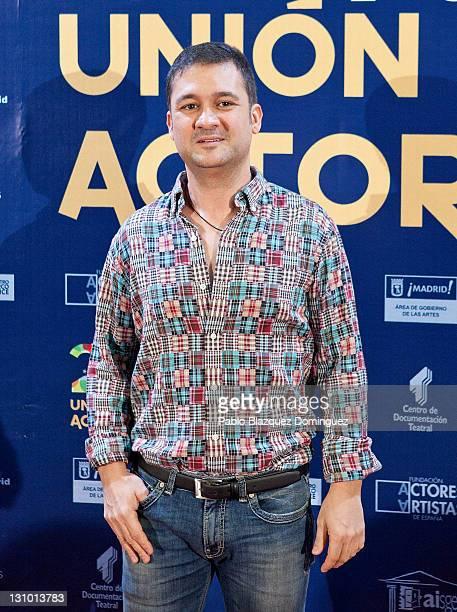 Spanish actor Secun de la Rosa attends XX Union de Actores Awards at Circo Price Theatre on October 31 2011 in Madrid Spain