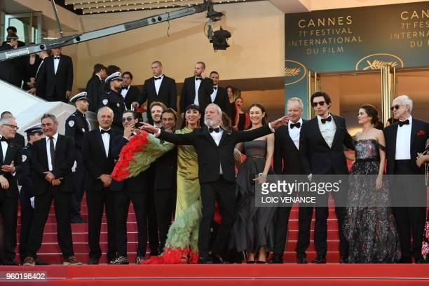 Spanish actor Sergi Lopez ish screenwriter Tony Grisoni Spanish actor Oscar Jaenada a guest Spanish actor Jordi Molla Spanish actress Rossy de Palma...