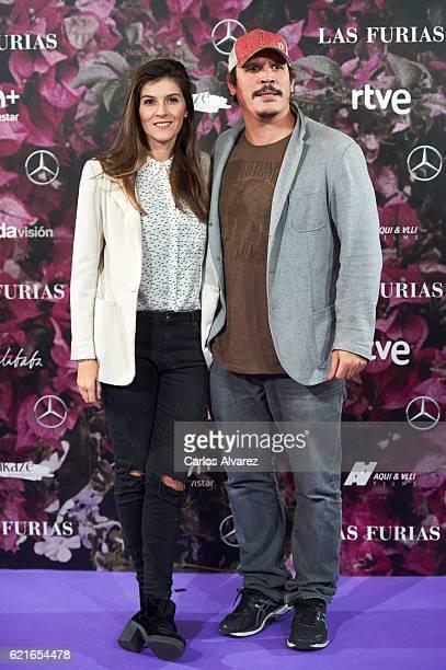 Spanish actor Sergio PerisMencheta attends 'Las Furias' premiere at Pavon Theater on November 7 2016 in Madrid Spain