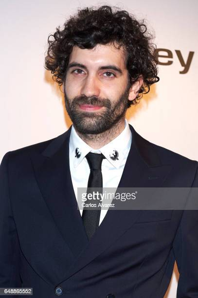 Spanish actor Tamar Novas attends the Fotogramas Magazine cinema awards 2017 at the Joy Eslava Club on March 6 2017 in Madrid Spain