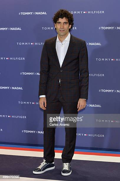Spanish actor Tamar Novas attends Tommy Hilfiger event at the Cibeles Palace on December 1 2015 in Madrid Spain