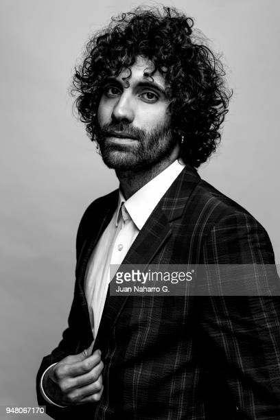 Spanish actor Tamar Novas is photographed on self assignment during 21th Malaga Film Festival 2018 on April 14 2018 in Malaga Spain