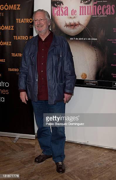 Spanish actor Xabier Elorriaga attends 'Casa de Munecas' photocall at Fernan Gomez Theatre on April 12, 2011 in Madrid, Spain.