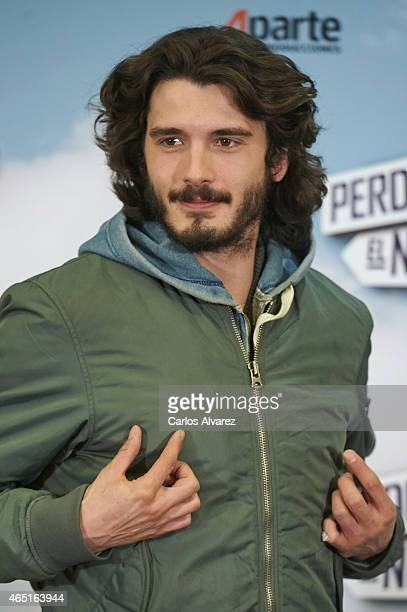 Spanish actor Yon Gonzalez attends the 'Perdiendo el Norte' photocall at the Intercontinental Hotel on March 3 2015 in Madrid Spain