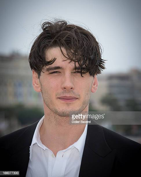 Spanish actor Yon Gonzalez Luna poses during a photocall for the TV series 'Grand Hotel' at MIP TV 2013 on April 8 2013 in Cannes France