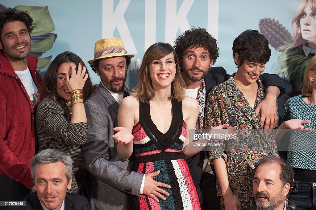'Kiki, El Amor Se Hace' Madrid Photocall