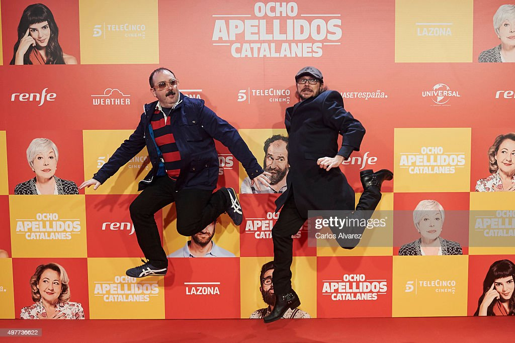 'Ocho Apellidos Catalantes' Madrid Premiere