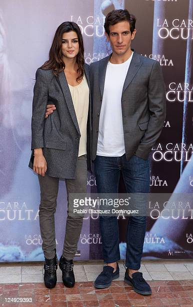 Spanish actors Clara Lago and Quim Gutierrez attend 'La Cara Oculta' photocall at Intercontinental Hotel on September 14 2011 in Madrid Spain