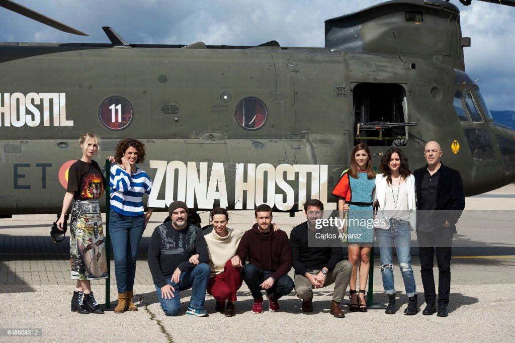'Zona Hostil' Madrid Photocall