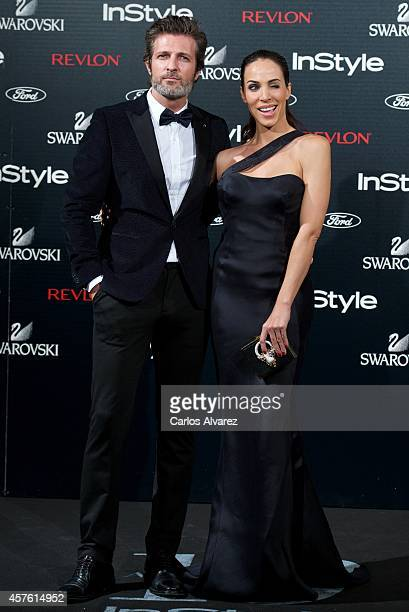 Spanish actors Jesus Olmedo and Nerea Garmendia attend the In Style Magazine 10th Anniversary party at the Melia Fenix Hotel on October 21 2014 in...