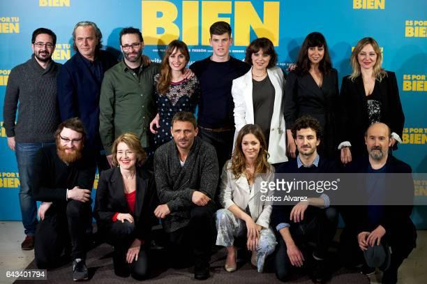 Spanish actors Josep Gatell Jose Coronado director Carlos Theron Silvia Alonso Miguel Bernardeau Andrea Ros Carmen Ruiz Pilar Castro Manuel Burque...
