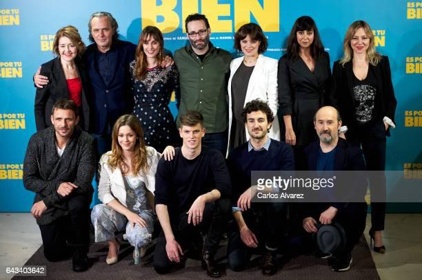 Spanish actors Maria Pujalte Jose Coronado Silvia Alonso director Carlos Theron Andrea Ros Carmen Ruiz Pilar Castro Luis Mottola Georgina Amoros...