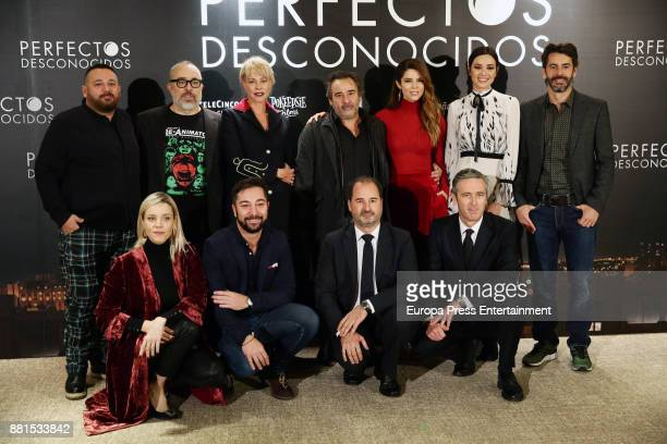 Spanish actors Pepon Nieto Belen Rueda director Alex de la Iglesia actors Eduard Fernandez Juana Acosta Dafne Fernandez Carolina Bang and Eduardo...