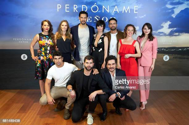 Spanish actors Sandra Collantes Lucia Guerrero Stany Coppet Paz Vega Jesus Castro Silvia Marty Andrea Duro Christian Sanchez Diego Dominguez and Jose...