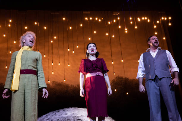 ESP: 'Antoine' Theatre Play In Madrid