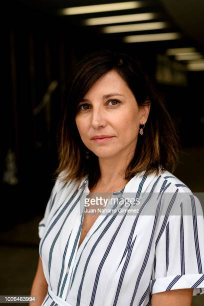 Spanish actres Marian Alvarez poses during a portrait session on September 3 2018 in Madrid Spain