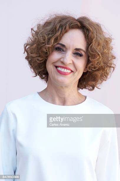 Spanish actress Adriana Ozores attends 'Velvet Colecction' photocall at the Escoriaza Esquivel Palace during the FesTVal 2017 on September 5 2017 in...