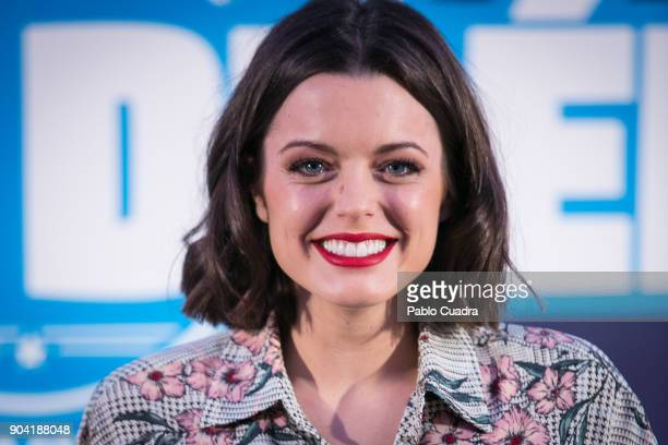 Spanish actress Adriana Torrebejano attends the 'Cuerpo De Elite' photocall at ME Reina Victoria Hotel on January 12 2018 in Madrid Spain