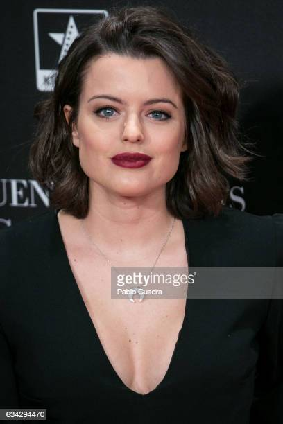 Spanish actress Adriana Torrebejano attends the 'Fifty Shades Darker' premiere at Kinepolis Cinema on February 8 2017 in Madrid Spain