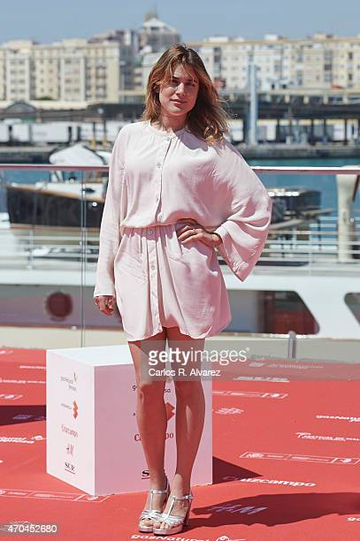 Spanish actress Adriana Ugarte attends Tiempo Sin Aire photocall during the 18th Malaga Film Festival on April 20 2015 in Malaga Spain