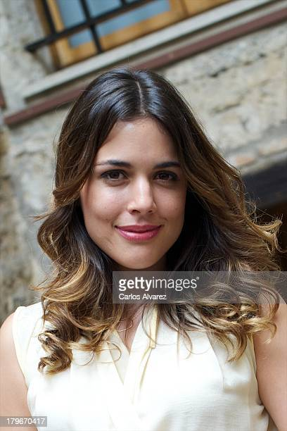 Spanish actress Adriana Ugarte promotes the 'El Tiempo Entre Costuras' new season during the day five of 5th FesTVal Television Festival 2013 at the...