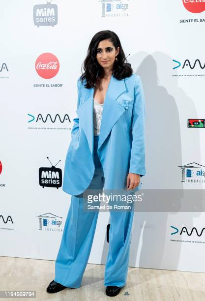 Spanish actress Alba Flores attends 'MiM' awards 2019 at Hotel Puerta de America on December 17 2019 in Madrid Spain