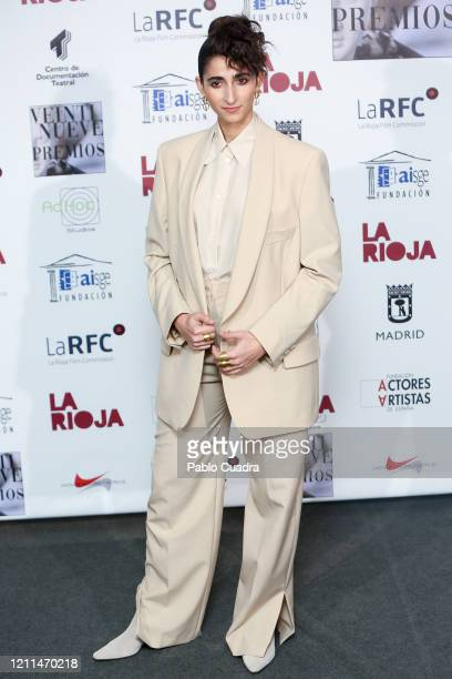 Spanish actress Alba Flores attends the 'Union De Actores' awards 2020 at Circo Price Theater on March 09, 2020 in Madrid, Spain.