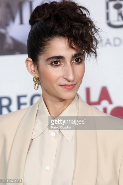 Spanish actress Alba Flores attends the 'Union De Actores' awards 2020 at Circo Price Theater on March 09 2020 in Madrid Spain