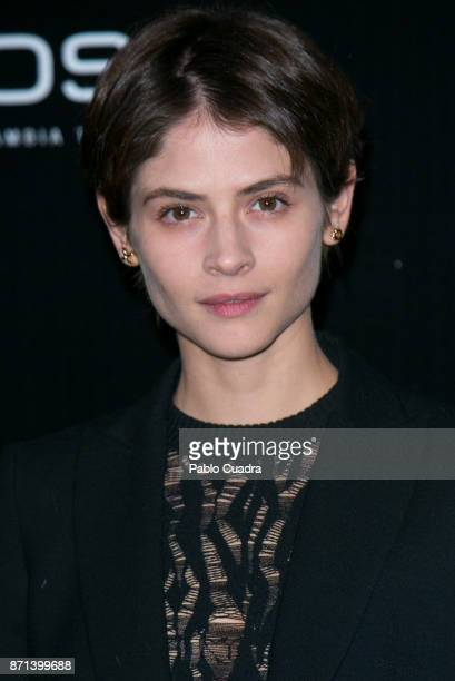 Spanish actress Alba Galocha attends the 'IQOS' presentation at the Nubel restaurant on November 7 2017 in Madrid Spain