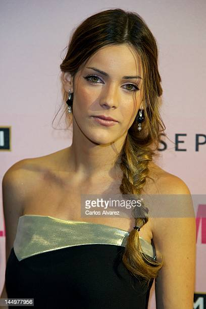 Spanish actress Alejandra Onieva attends 'Cosmopolitan Fragances Awards 2012' at the Calderon Theater on May 21 2012 in Madrid Spain