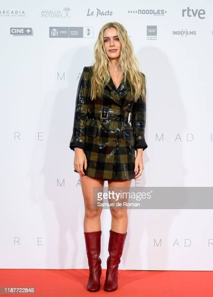Spanish actress Alejandra Onieva attends Madre Madrid Premiere on November 14 2019 in Madrid Spain