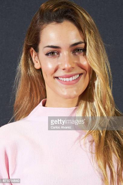 Spanish actress Alejandra Onieva attends the 'Musa' premiere at the Callao cinema on November 6 2017 in Madrid Spain
