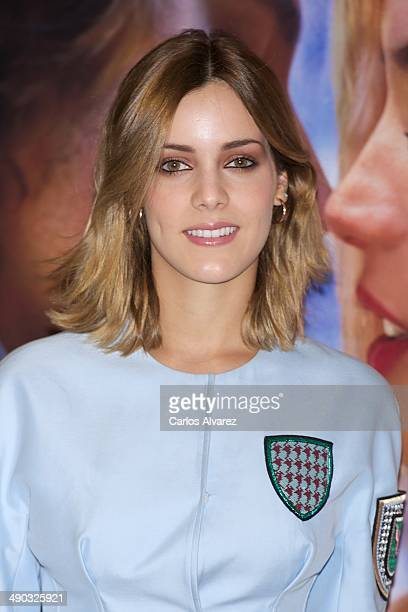 Spanish actress Alejandra Onieva attends the Por un Punado de Besos photocall at the Palafox cinema on May 14 2014 in Madrid Spain