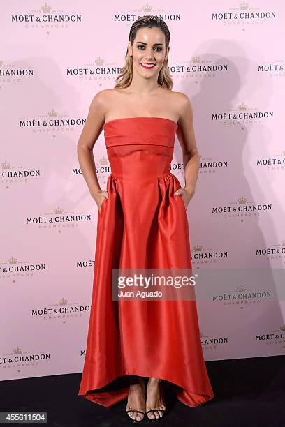 Spanish actress Alejandra Onieva attends the 'Rose Moon Night Party' at Casino de Madrid on September 17 2014 in Madrid Spain