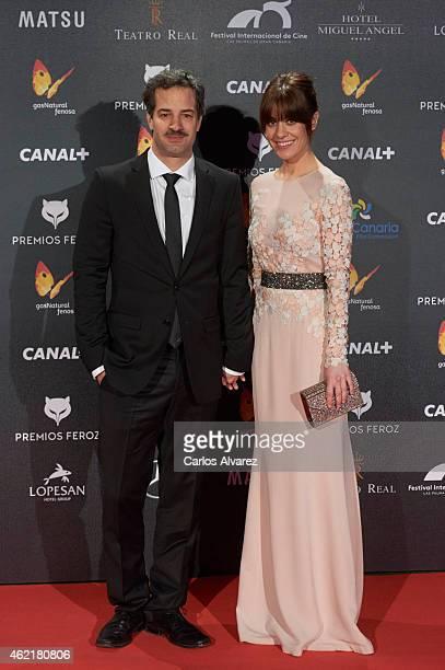 Spanish actress Alexandra Jimenez attends the 'Feroz' Cinema Awards 2015 at Gran Teatro Ruedo Las Ventas on January 25 2015 in Madrid Spain