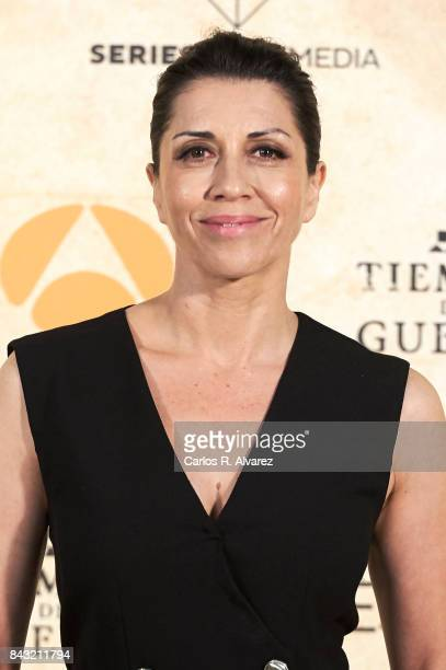 Spanish actress Alicia Borrachero attends 'Tiempo de Guerra' photocall at the PAlacio de Congresos during the FesTVal 2017 on September 6 2017 in...