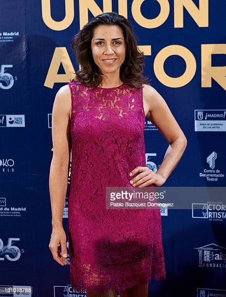 Spanish actress Alicia Borrachero attends XX Union de Actores Awards at Circo Price Theatre on October 31 2011 in Madrid Spain