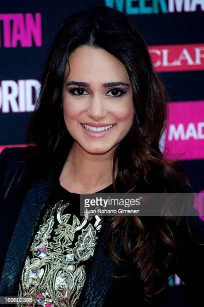 Spanish actress Alicia Sanz attends the 'Cosmopolitan Shopping Week' party at the Plaza de Callao on May 28 2013 in Madrid Spain